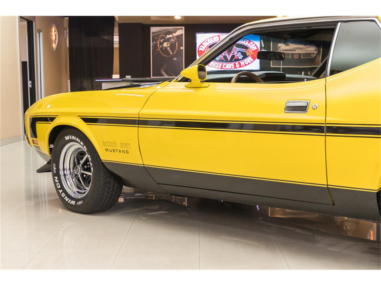 Large Picture of '72 Ford Mustang Boss 351 Recreation located in Michigan Offered by Vanguard Motor Sales - JGDO