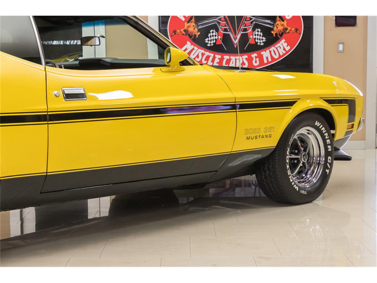 Large Picture of Classic 1972 Ford Mustang Boss 351 Recreation located in Michigan Offered by Vanguard Motor Sales - JGDO