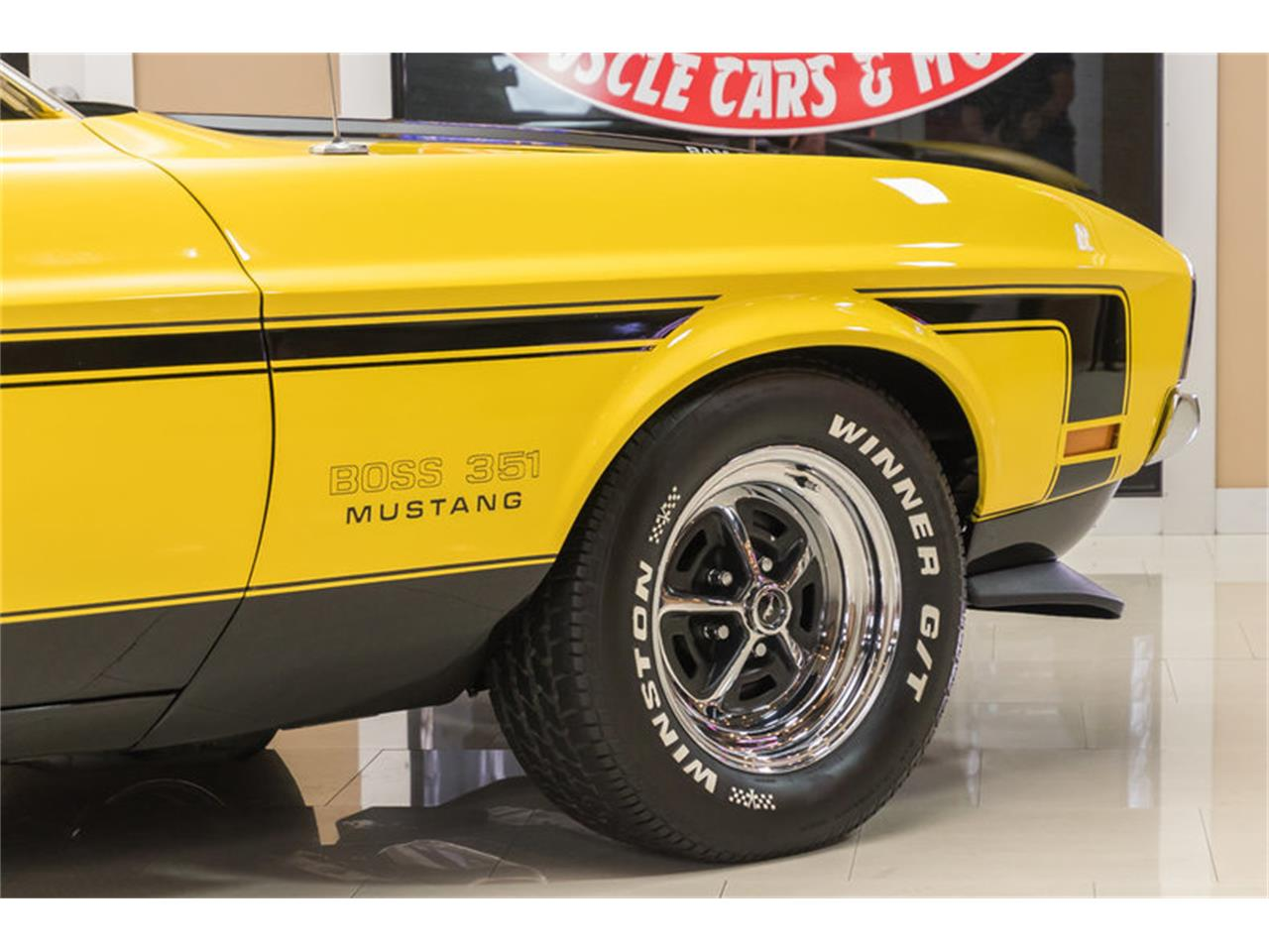 Large Picture of Classic 1972 Mustang Boss 351 Recreation Offered by Vanguard Motor Sales - JGDO