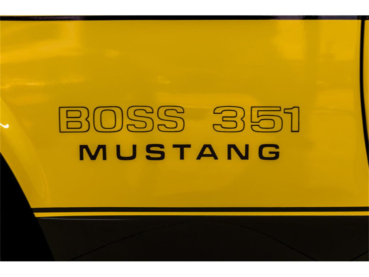 Large Picture of Classic '72 Ford Mustang Boss 351 Recreation located in Plymouth Michigan Offered by Vanguard Motor Sales - JGDO