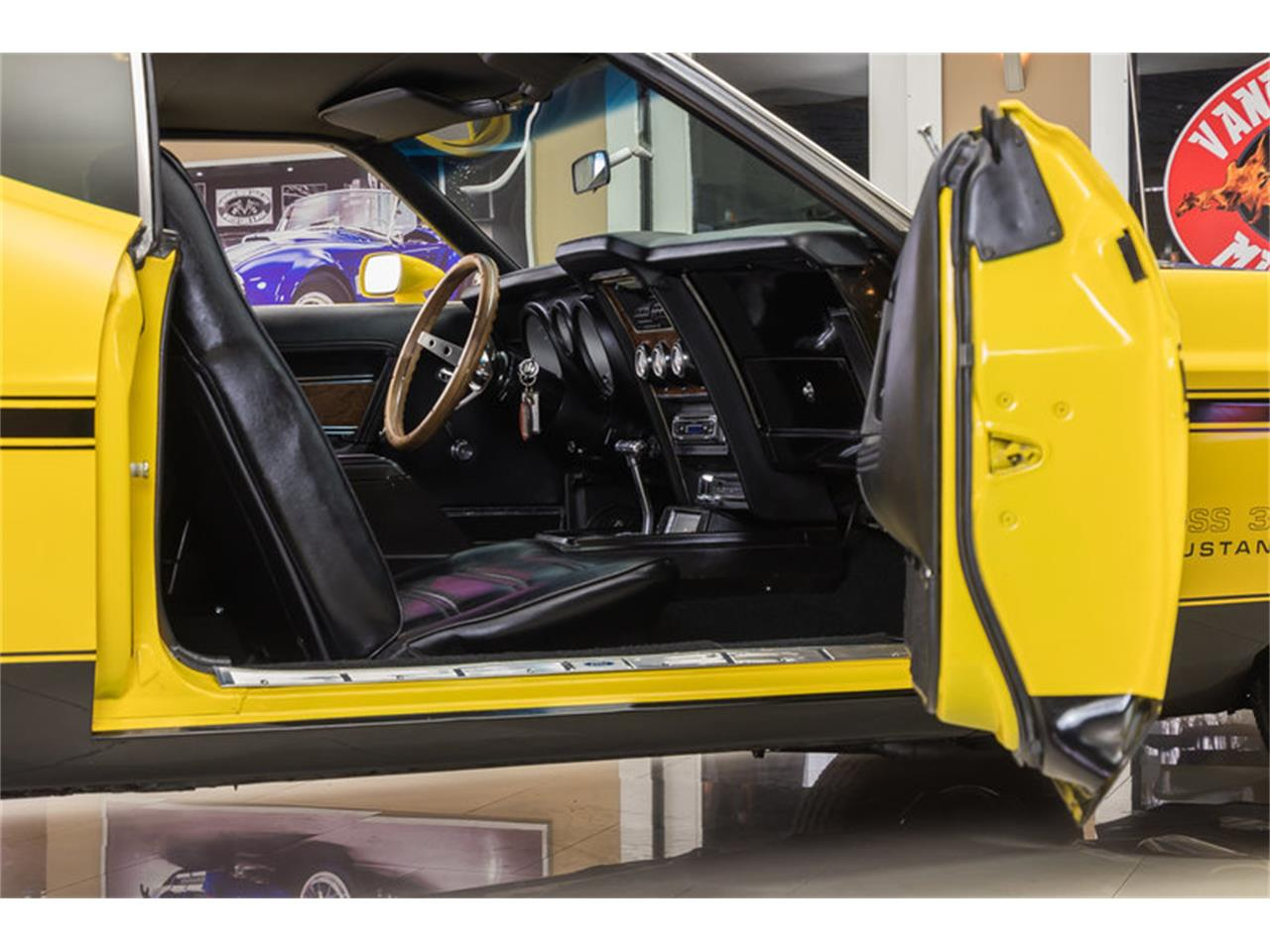 Large Picture of '72 Ford Mustang Boss 351 Recreation located in Michigan - $34,900.00 Offered by Vanguard Motor Sales - JGDO