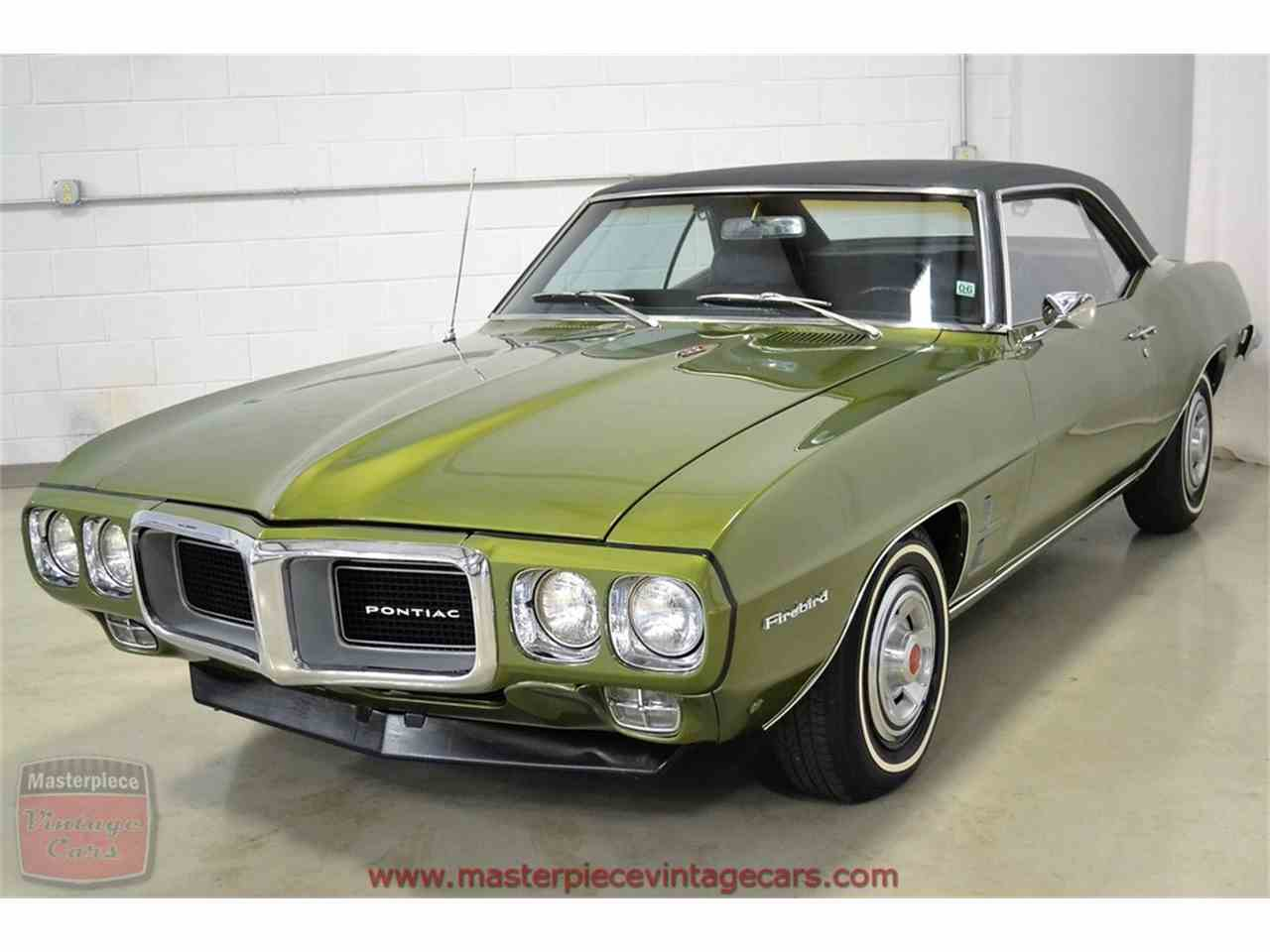 Large Picture of Classic 1969 Pontiac Firebird Offered by Masterpiece Vintage Cars - JGIO