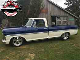 Picture of Classic 1967 Ford Pickup located in Mount Vernon Washington - $69,500.00 Offered by Lost & Found Classic Car Co - JGVP
