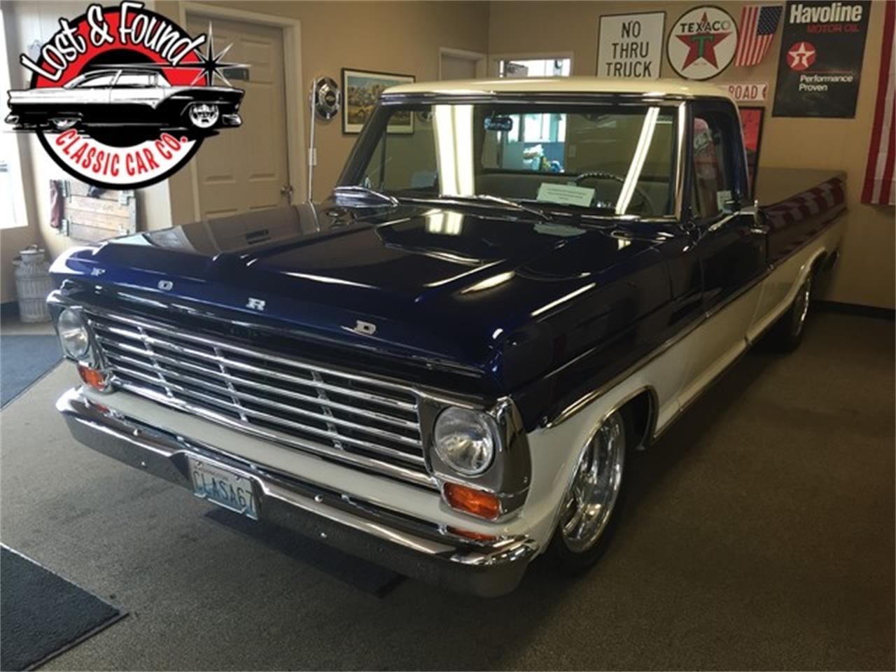 Large Picture of Classic 1967 Ford Pickup located in Mount Vernon Washington Offered by Lost & Found Classic Car Co - JGVP