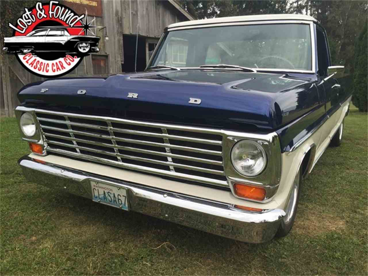Large Picture of 1967 Ford Pickup Offered by Lost & Found Classic Car Co - JGVP