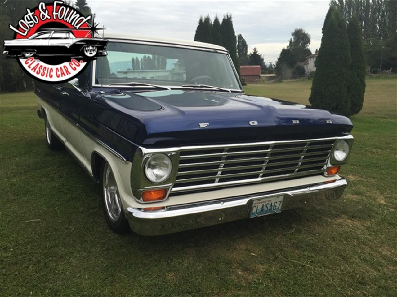 Large Picture of Classic 1967 Ford Pickup located in Washington - $69,500.00 Offered by Lost & Found Classic Car Co - JGVP