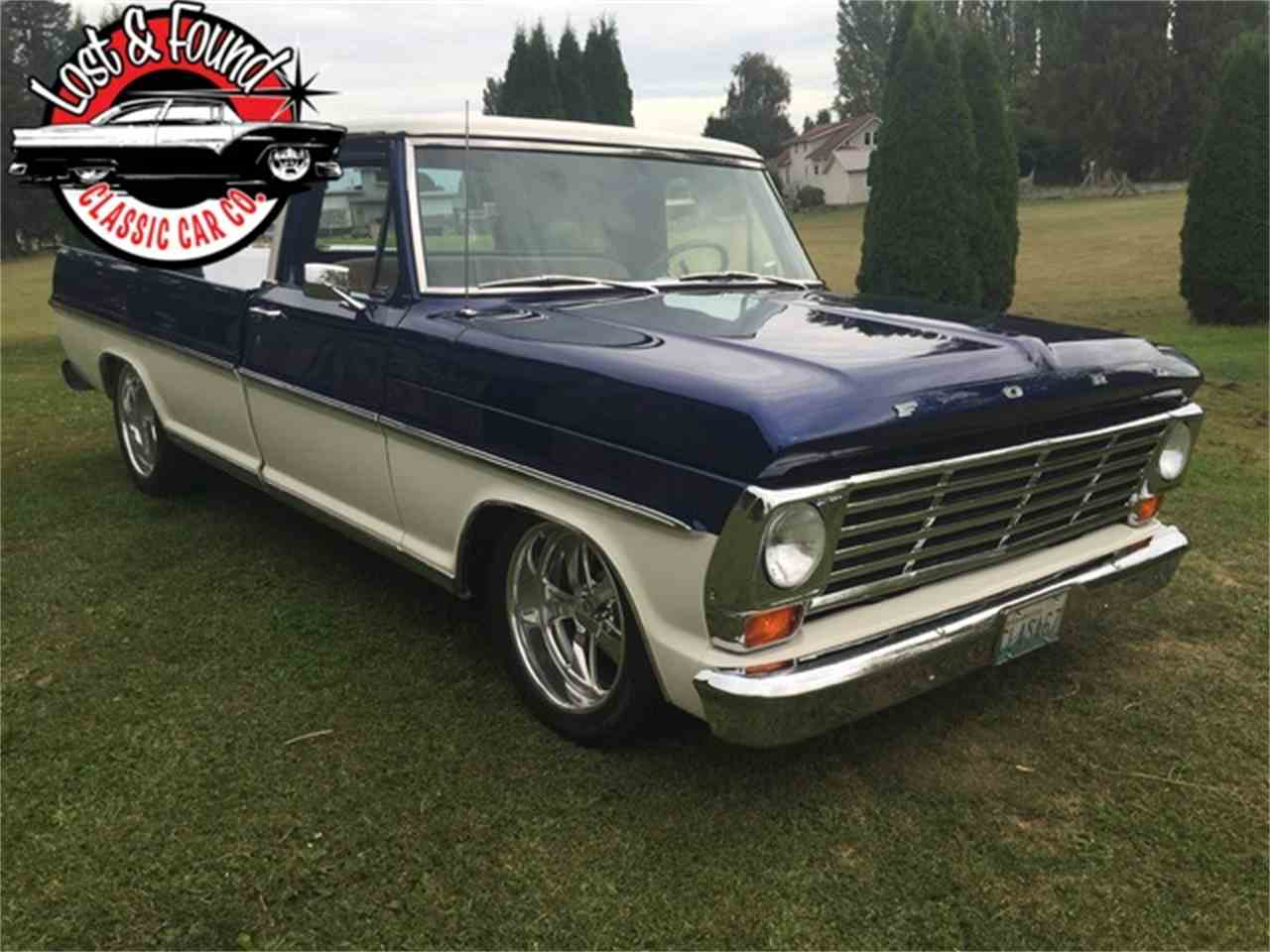 Large Picture of '67 Ford Pickup Offered by Lost & Found Classic Car Co - JGVP