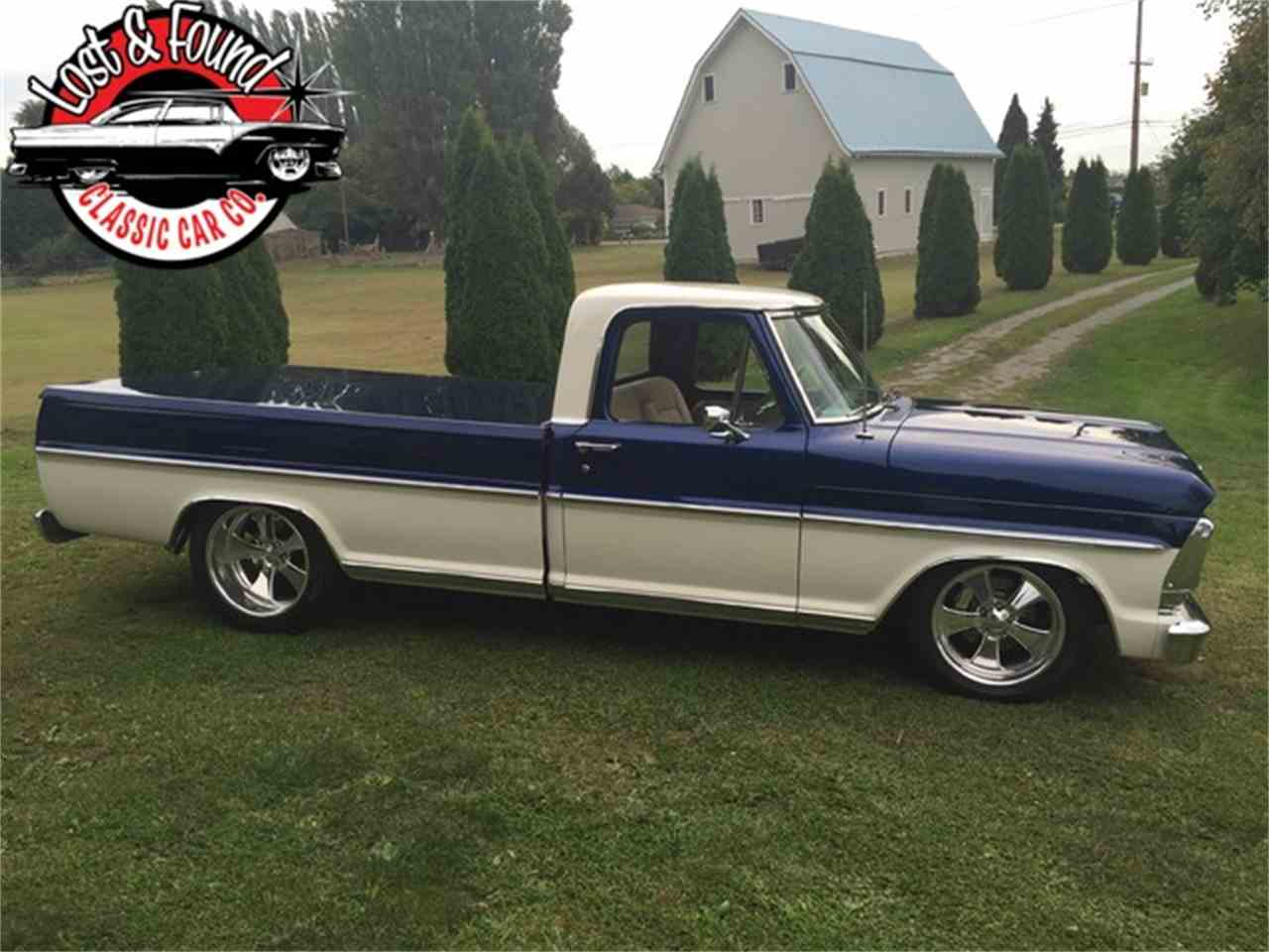 Large Picture of '67 Ford Pickup located in Mount Vernon Washington - $69,500.00 Offered by Lost & Found Classic Car Co - JGVP