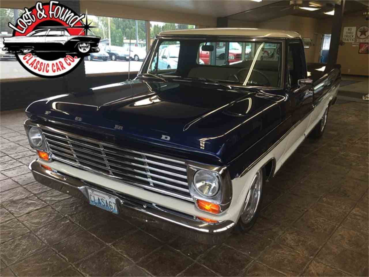 Large Picture of 1967 Ford Pickup located in Mount Vernon Washington - JGVP