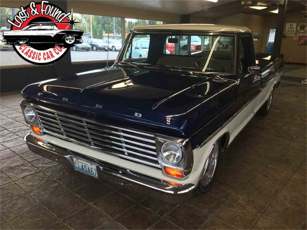 Large Picture of Classic '67 Ford Pickup - $69,500.00 - JGVP