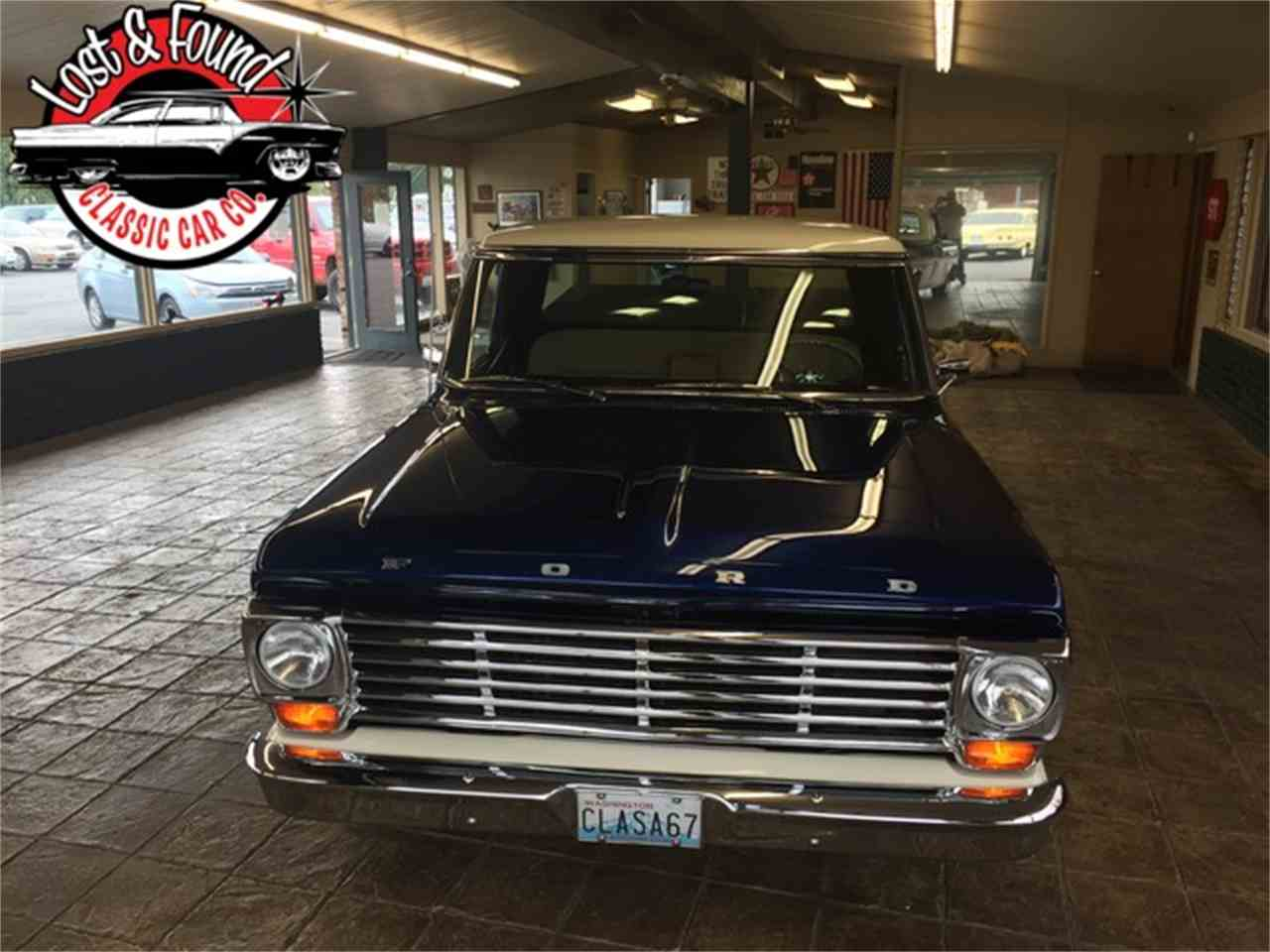 Large Picture of Classic 1967 Ford Pickup located in Washington Offered by Lost & Found Classic Car Co - JGVP