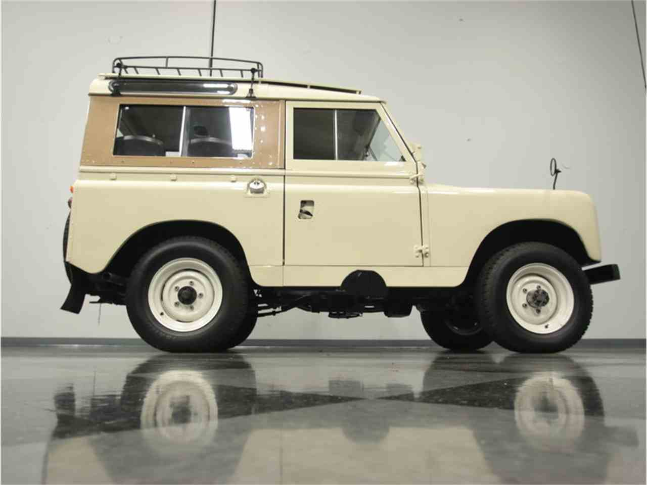 Large Picture of '68 Series IIA Defender 88 - JH5B