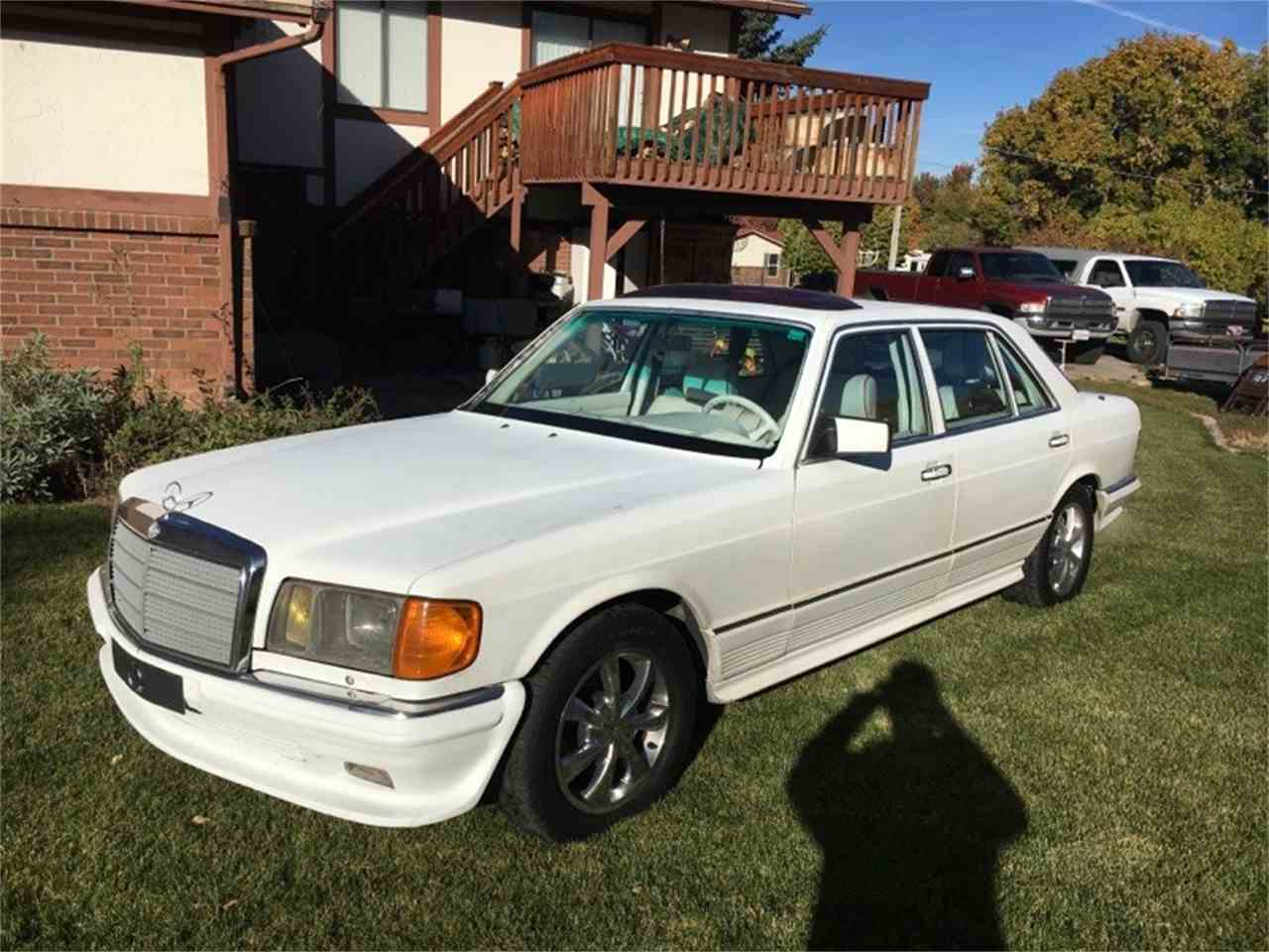 1984 mercedes benz 1000sel for sale cc for Mercedes benz of lindon utah