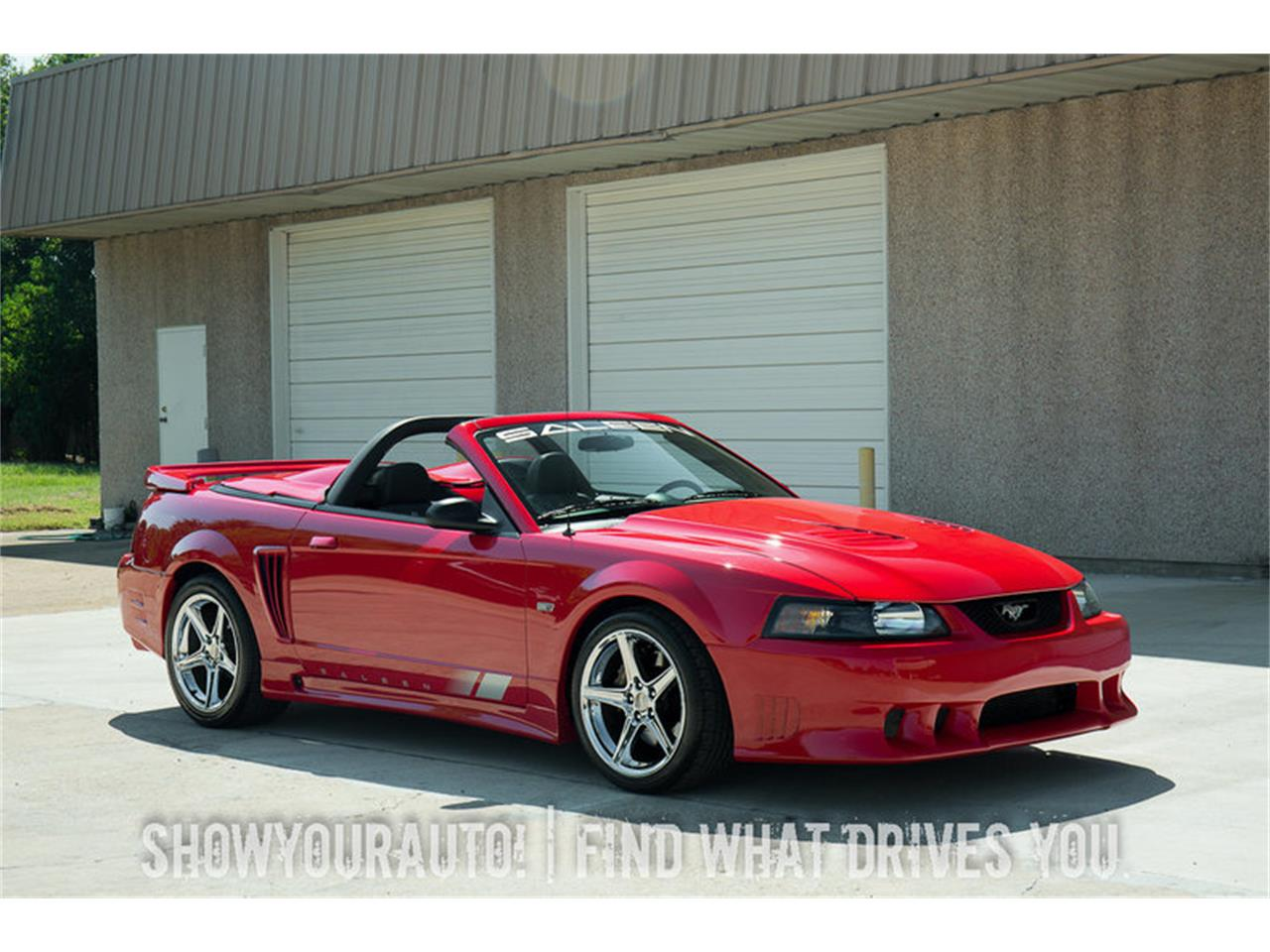 2002 Ford Saleen Mustang S281 Extreme Speedster In Grayslake Illinois
