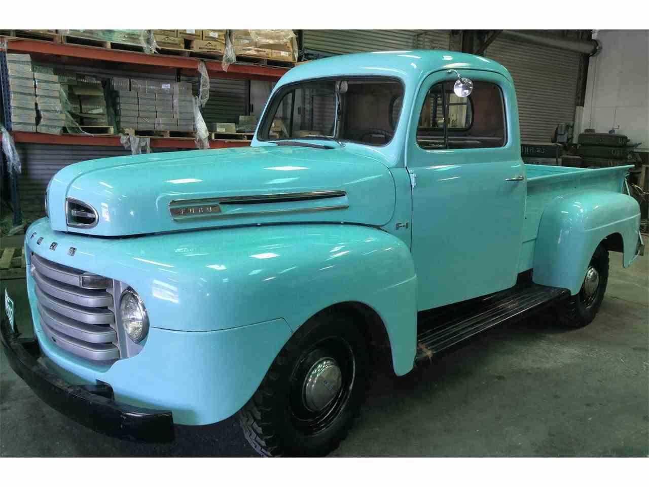 1950 ford f1 for sale cc 909720. Black Bedroom Furniture Sets. Home Design Ideas
