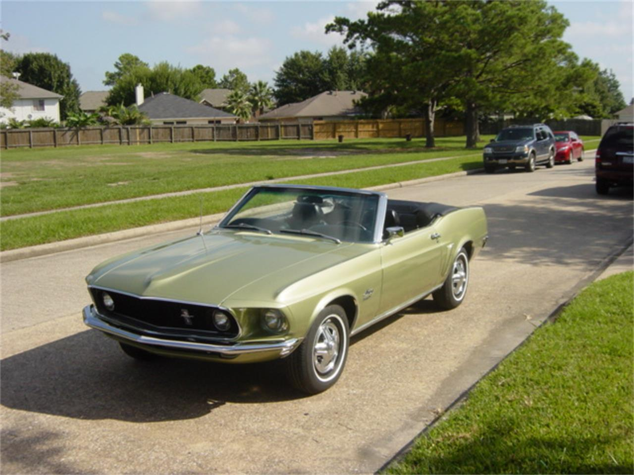 1969 ford mustang for sale cc 909733. Black Bedroom Furniture Sets. Home Design Ideas
