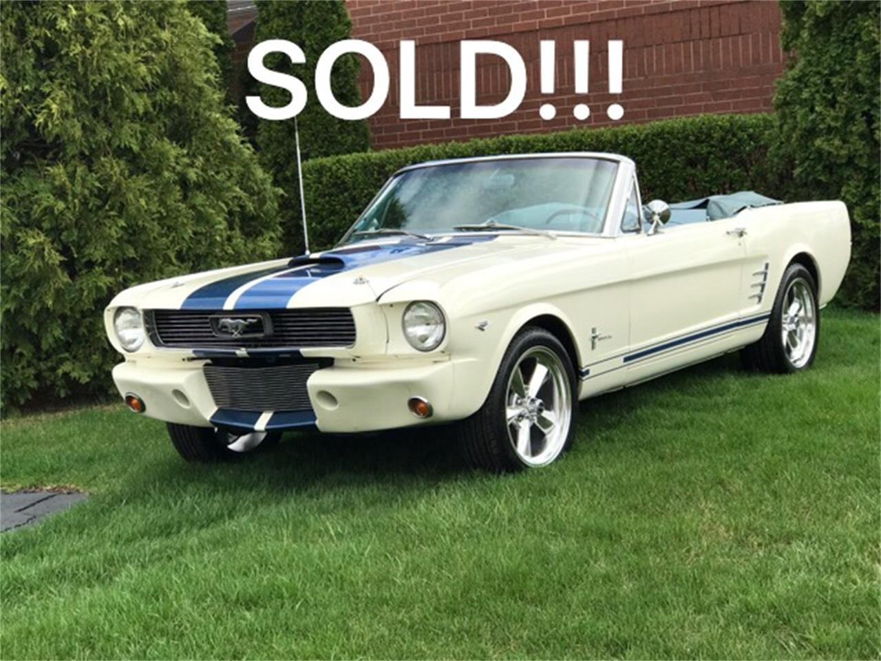 Large Picture of Classic '66 Mustang Offered by Classic Auto Haus - JHZC