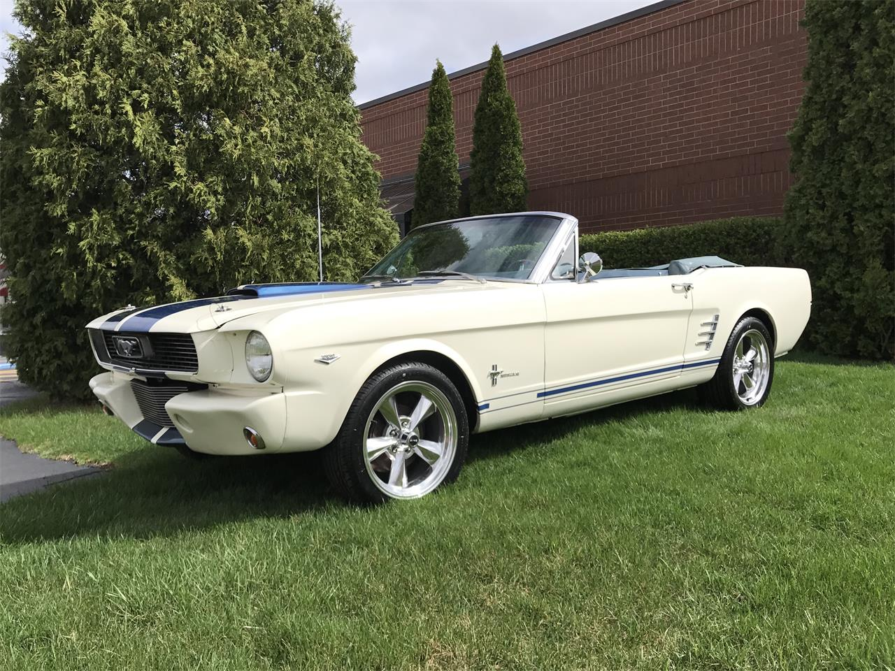 Large Picture of 1966 Mustang - JHZC