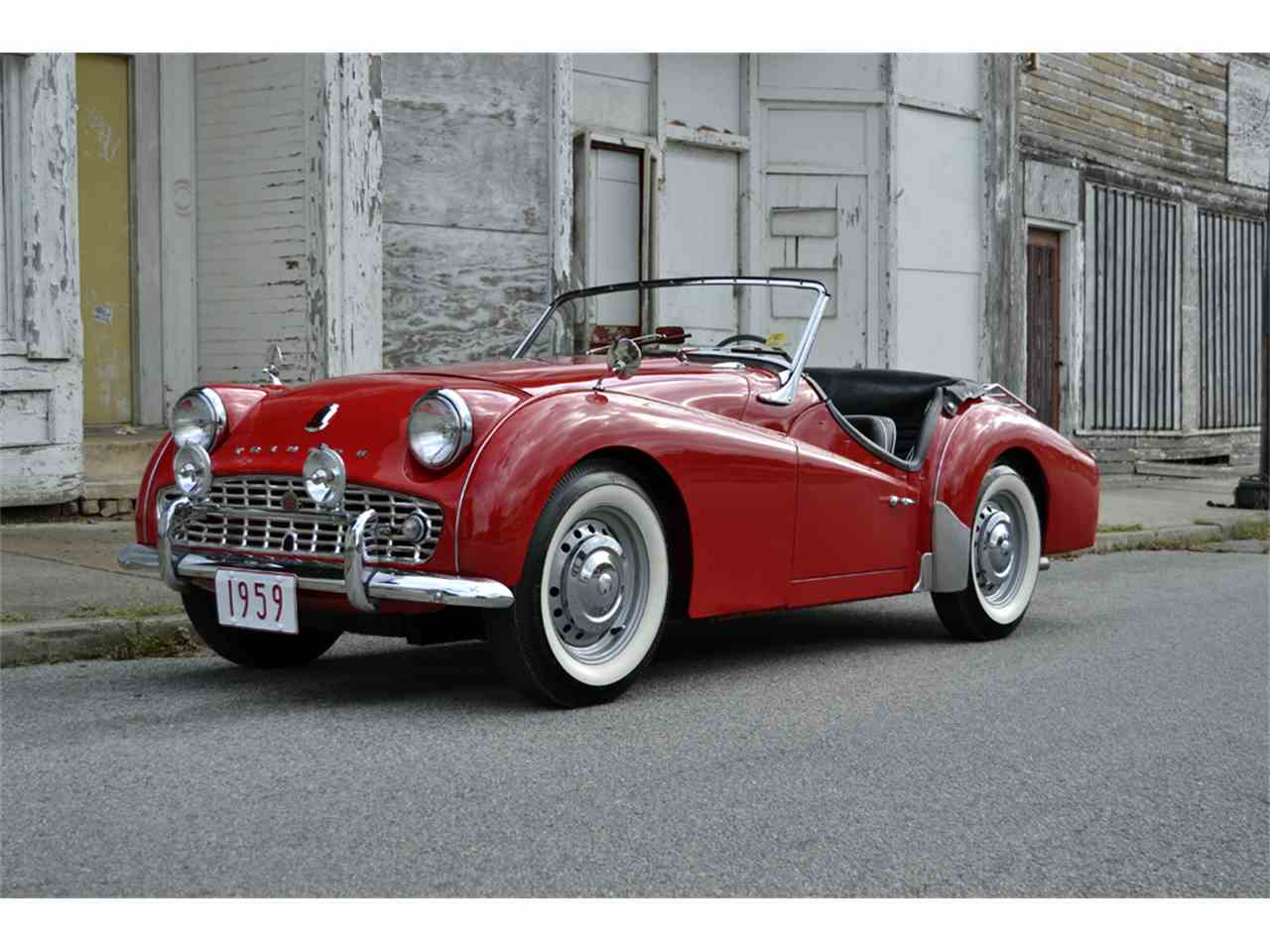 Trucks Under 5000 >> 1959 Triumph TR3 for Sale | ClassicCars.com | CC-909901