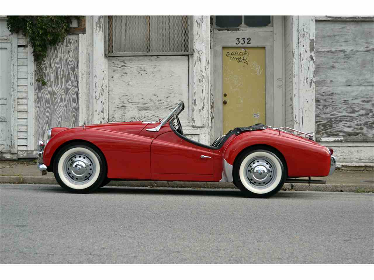 Large Picture of '59 TR3 - JI31