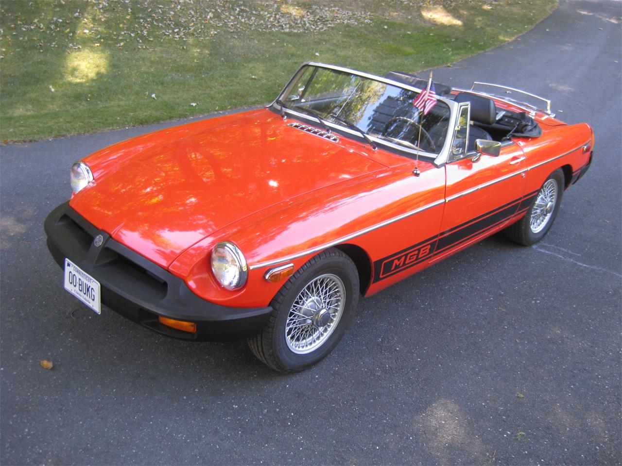 Large Picture of '80 MGB - JI5C