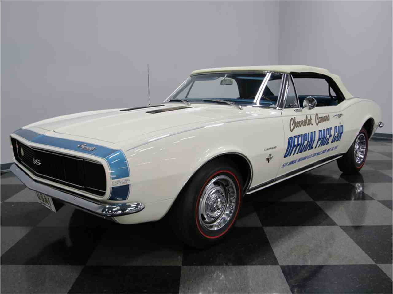 Large Picture of 1967 Chevrolet Camaro Indianapolis 500 Pace Car - $99,995.00 Offered by Streetside Classics - Nashville - JI5M