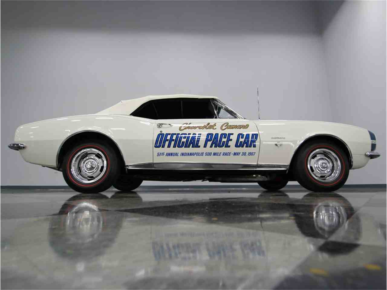 Large Picture of 1967 Camaro Indianapolis 500 Pace Car Offered by Streetside Classics - Nashville - JI5M