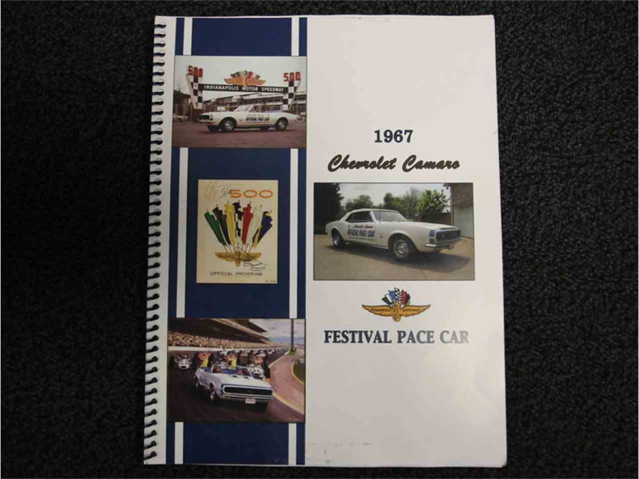 Large Picture of Classic '67 Camaro Indianapolis 500 Pace Car - $99,995.00 Offered by Streetside Classics - Nashville - JI5M