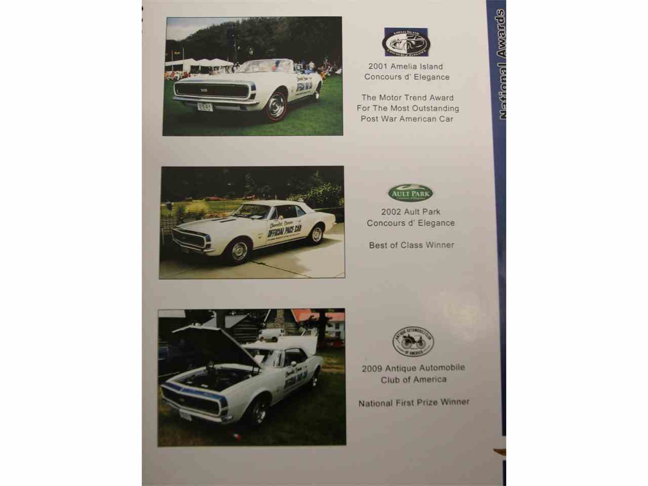 Large Picture of Classic 1967 Chevrolet Camaro Indianapolis 500 Pace Car located in Lavergne Tennessee - JI5M