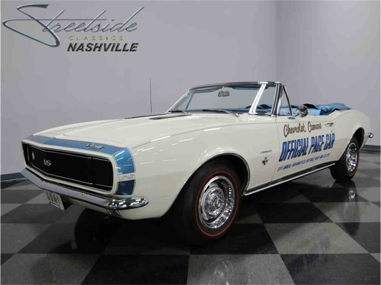 Large Picture of Classic '67 Camaro Indianapolis 500 Pace Car located in Lavergne Tennessee - $99,995.00 - JI5M