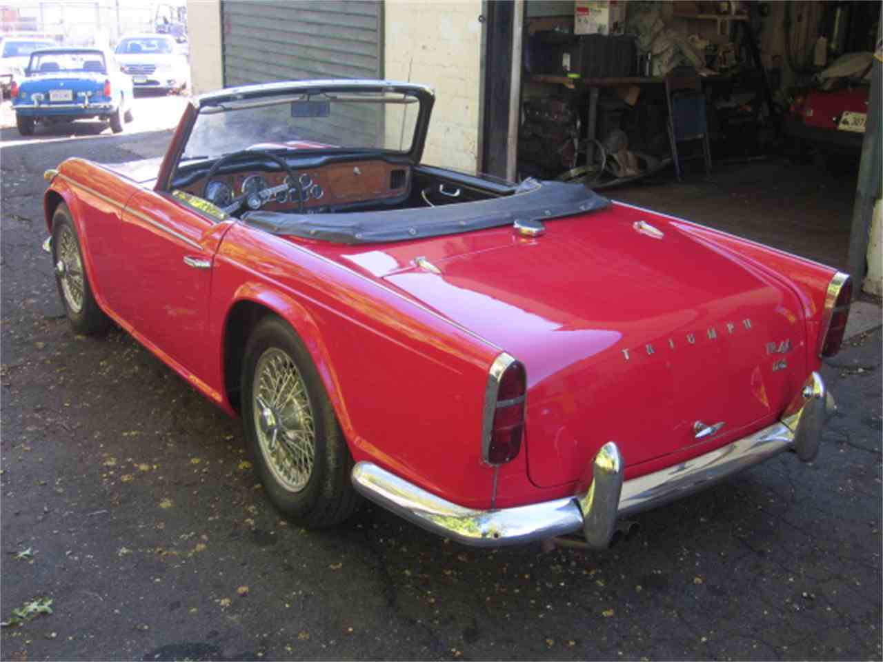 Large Picture of '67 TR4 - JJ46
