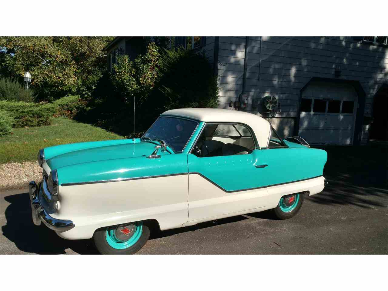 Large Picture of Classic '58 Nash Metropolitan located in Massachusetts Offered by a Private Seller - JJ53
