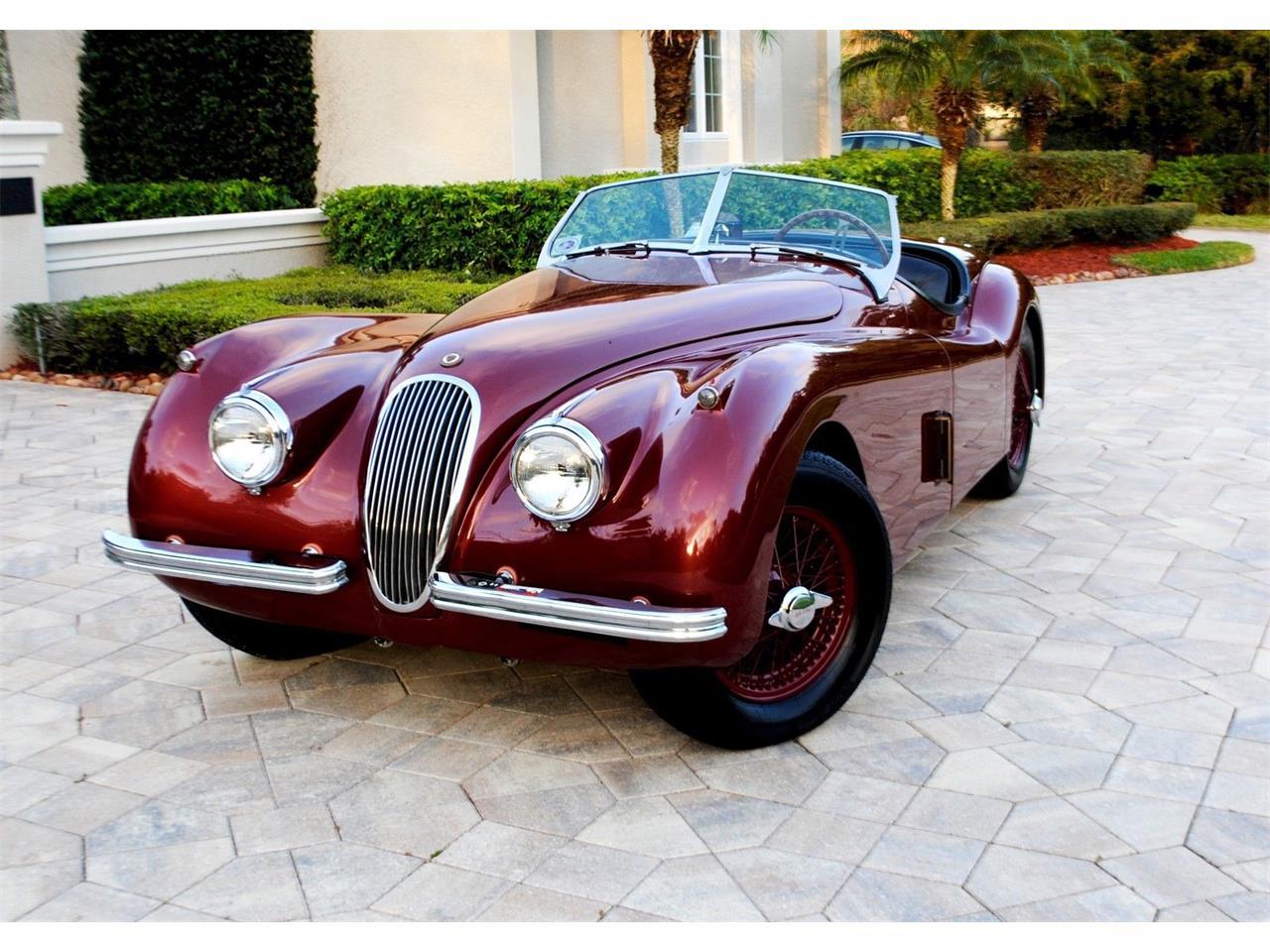 1954 jaguar xk120 se ots roadster for sale | classiccars | cc-911612
