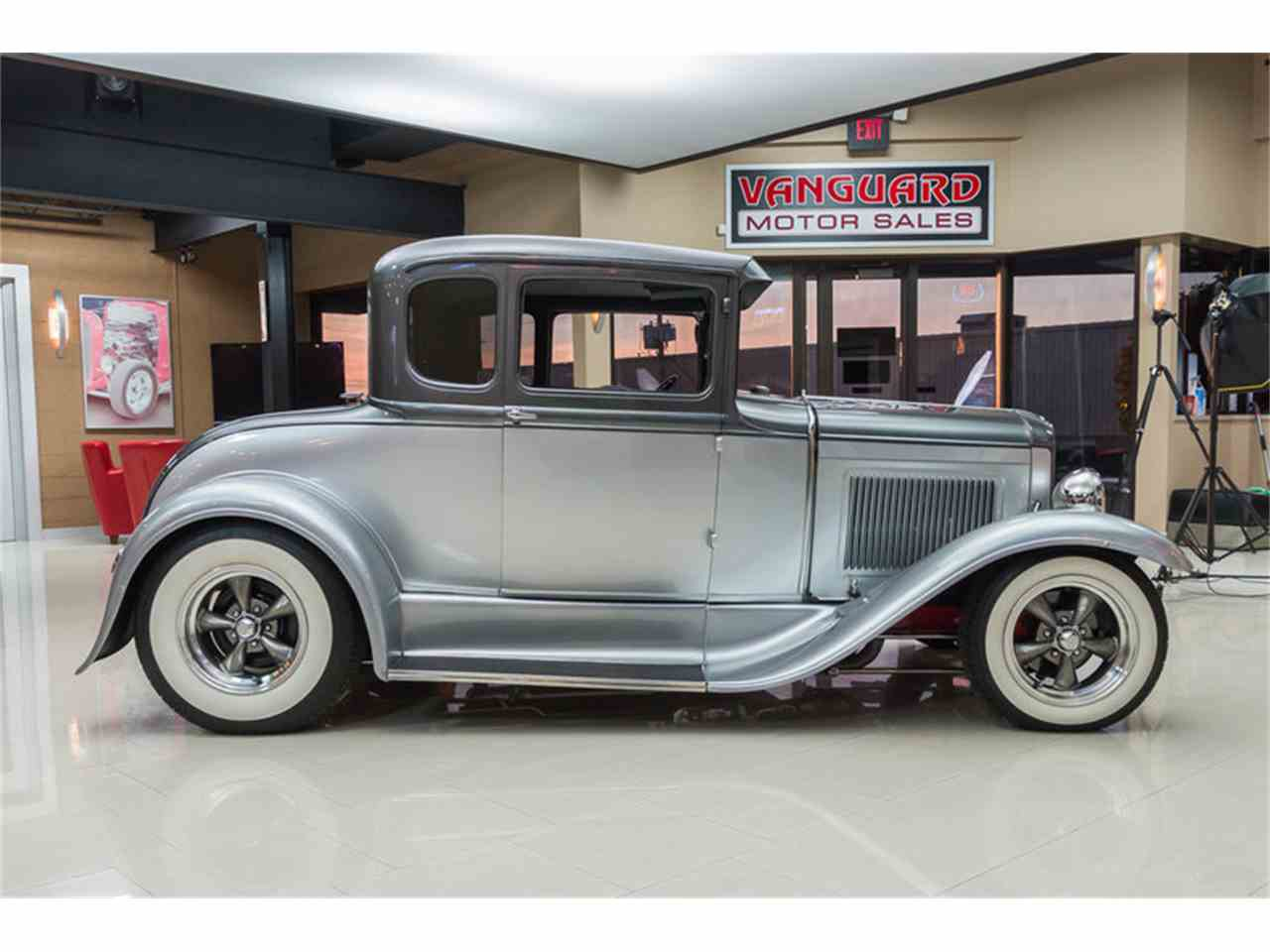 1930 Ford Model A Coupe Street Rod For Sale Classiccars