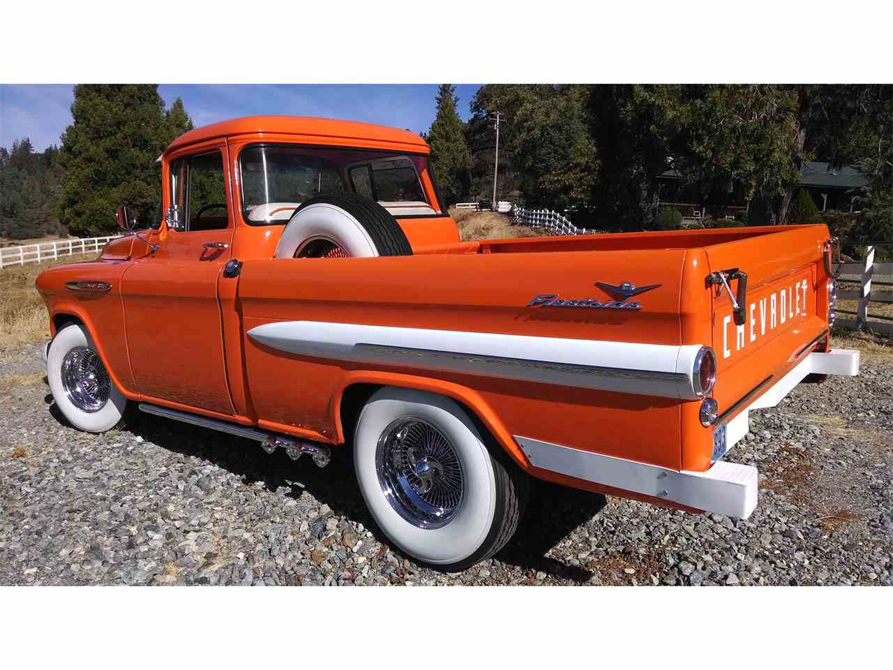 Large Picture of 1958 Chevrolet Fleetside located in auburn California Offered by Brockers Beautys - JK3D