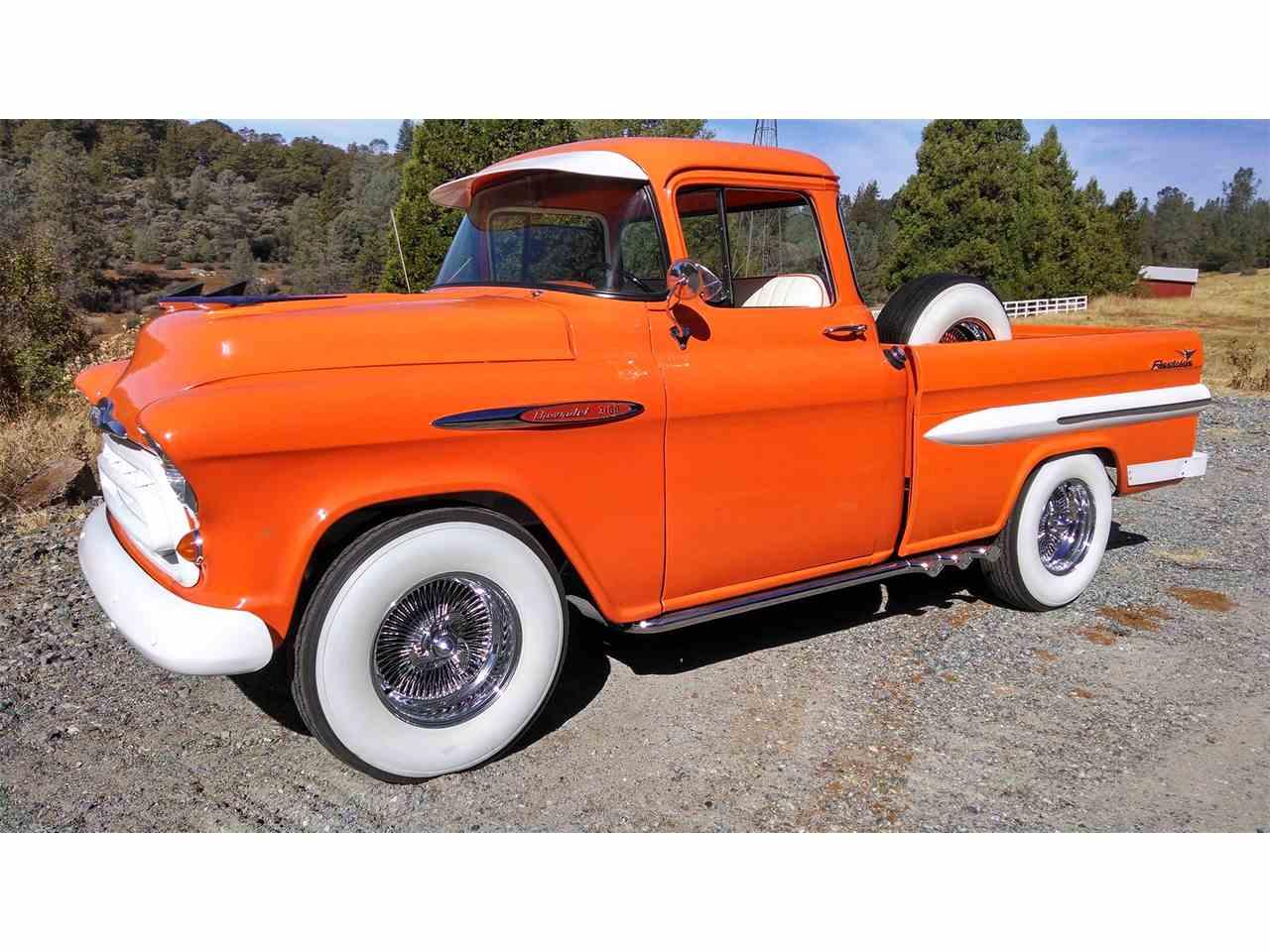 Large Picture of '58 Chevrolet Fleetside Offered by Brockers Beautys - JK3D
