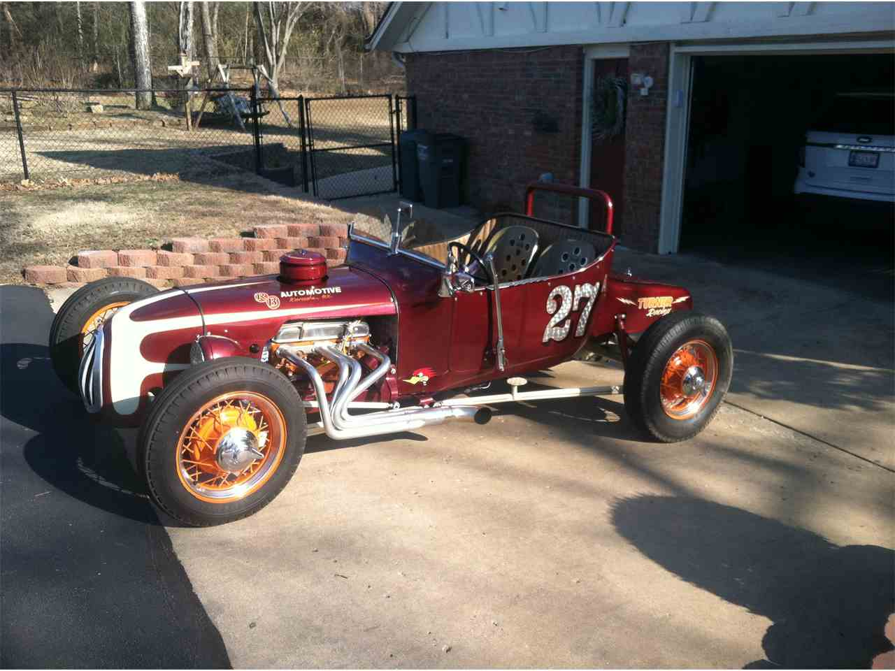 Large Picture of Classic '27 Ford T-Bucket located in Catoosa Oklahoma Offered by a Private Seller - JK42