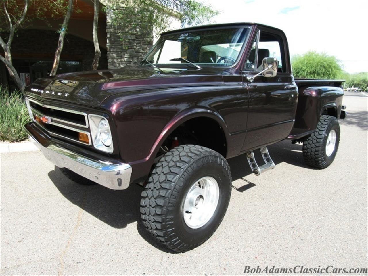 1968 Chevrolet 3 4 Ton 4x4 Pick Up For Sale Cc Chevy C10 Stepside Large Picture Of 68 Jk8y