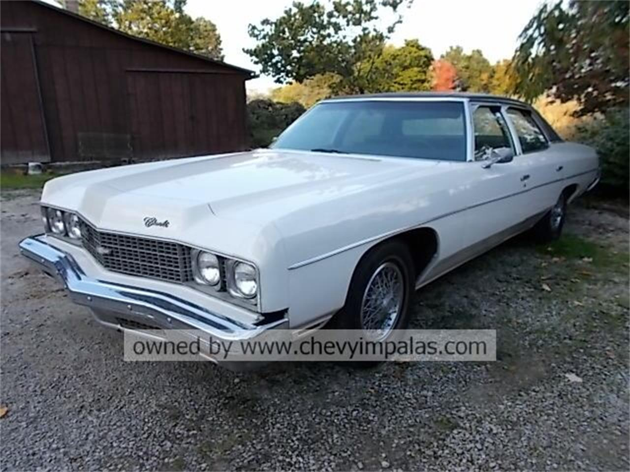 For Sale 1973 Chevrolet Impala 4 Door In Creston Ohio