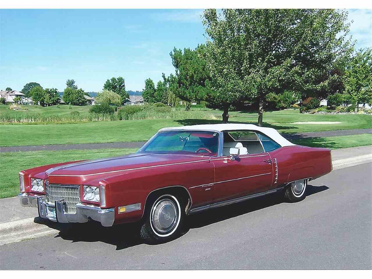 1971 Cadillac Eldorado for Sale | ClicCars.com | CC-912722