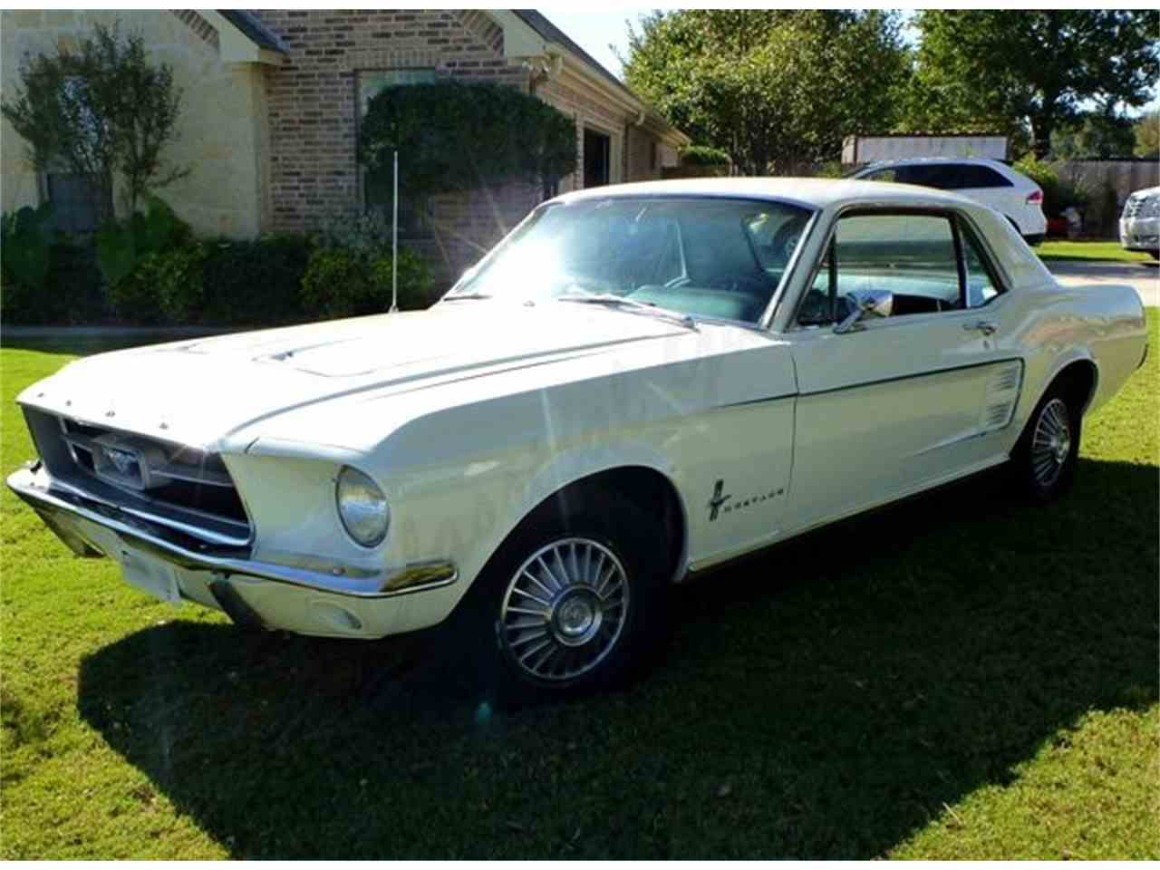 Large Picture of Classic 1967 Ford Mustang located in Arlington Texas - $16,000.00 Offered by Classical Gas Enterprises - JKDB