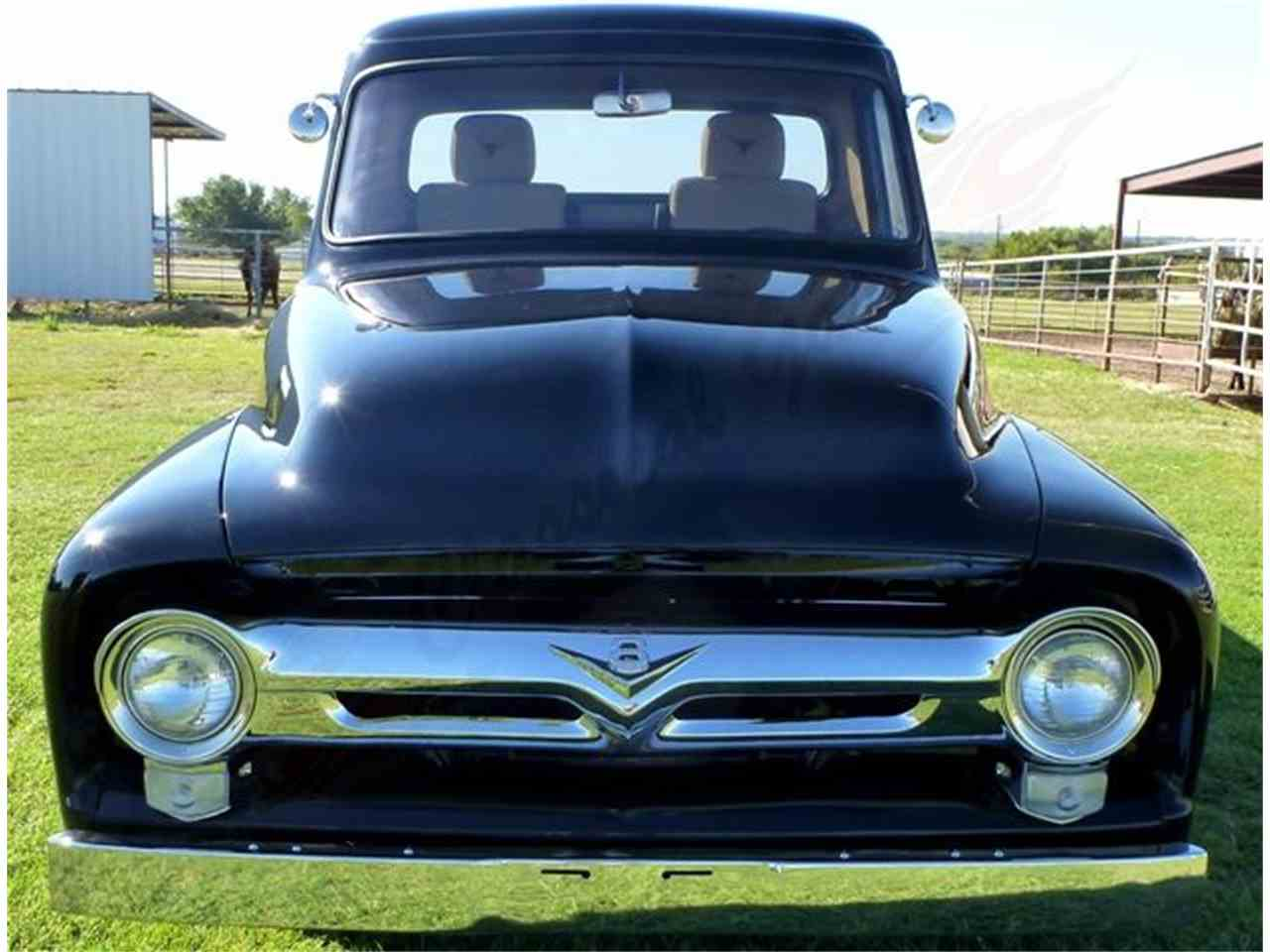 Ford F100 Grill Autocar Bildideen 1955 Value For Sale Classiccars Cc 912867