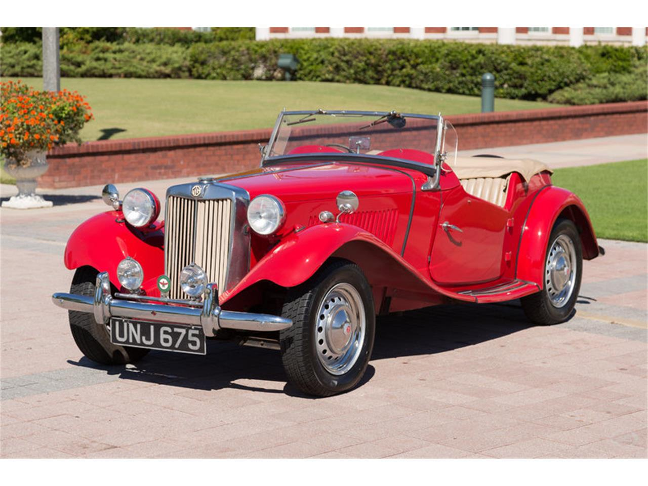 Large Picture of Classic '51 MG TD located in Collierville Tennessee - $27,900.00 Offered by Art & Speed - JKEU