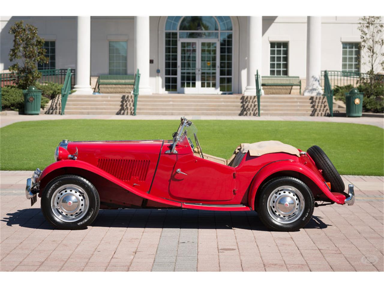 Large Picture of Classic 1951 MG TD located in Collierville Tennessee Offered by Art & Speed - JKEU