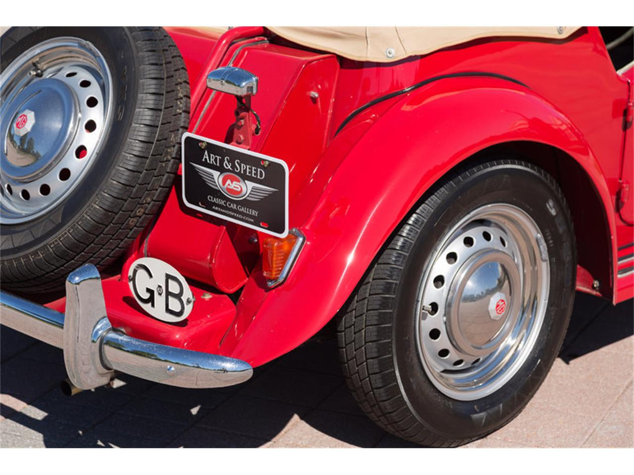 Large Picture of 1951 MG TD located in Collierville Tennessee - JKEU