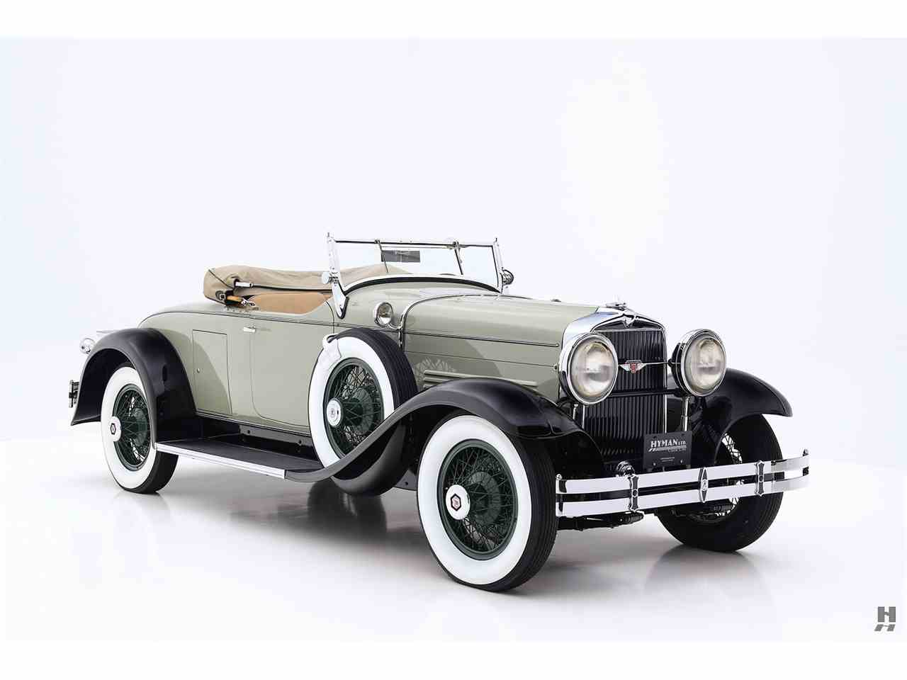 Large Picture of Classic '29 Stutz Blackhawk located in Saint Louis Missouri - $137,500.00 Offered by Hyman Ltd. Classic Cars - JKFP