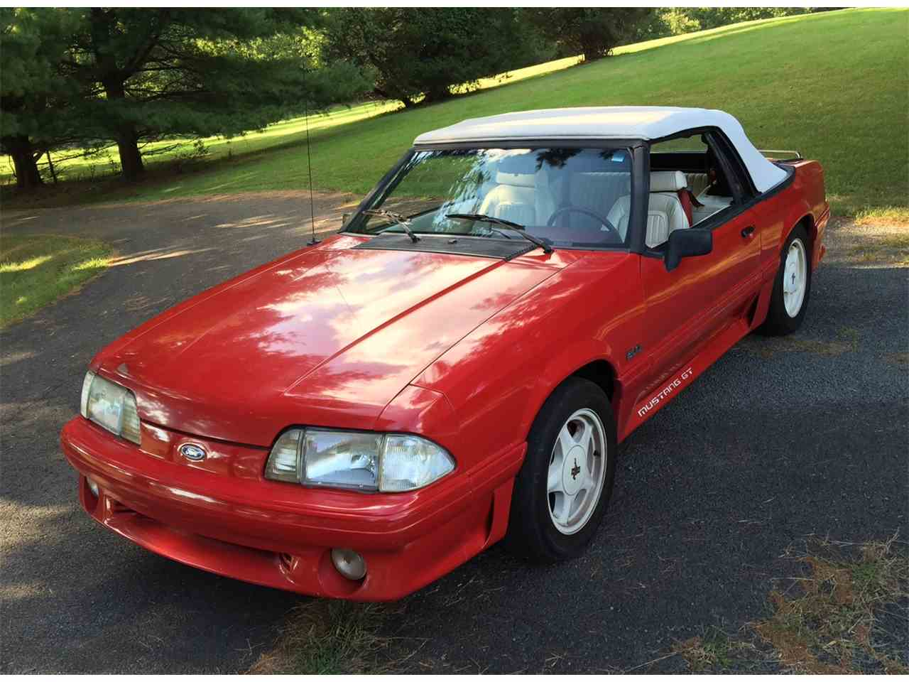 Large Picture of '92 Mustang GT - JKI4
