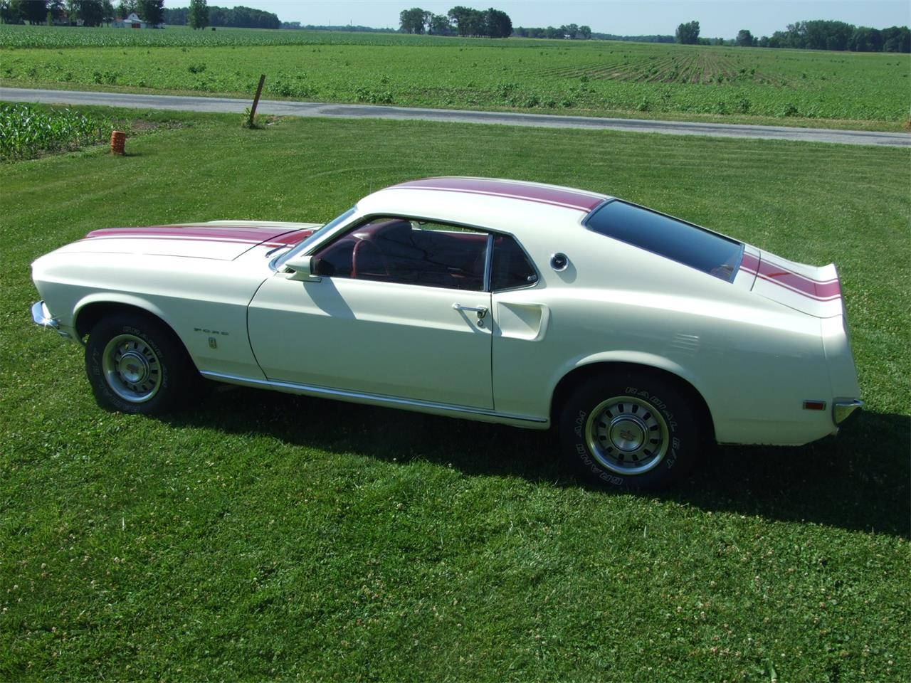 Large Picture of 1969 Mustang located in Monticello Indiana - $34,500.00 - JKJU