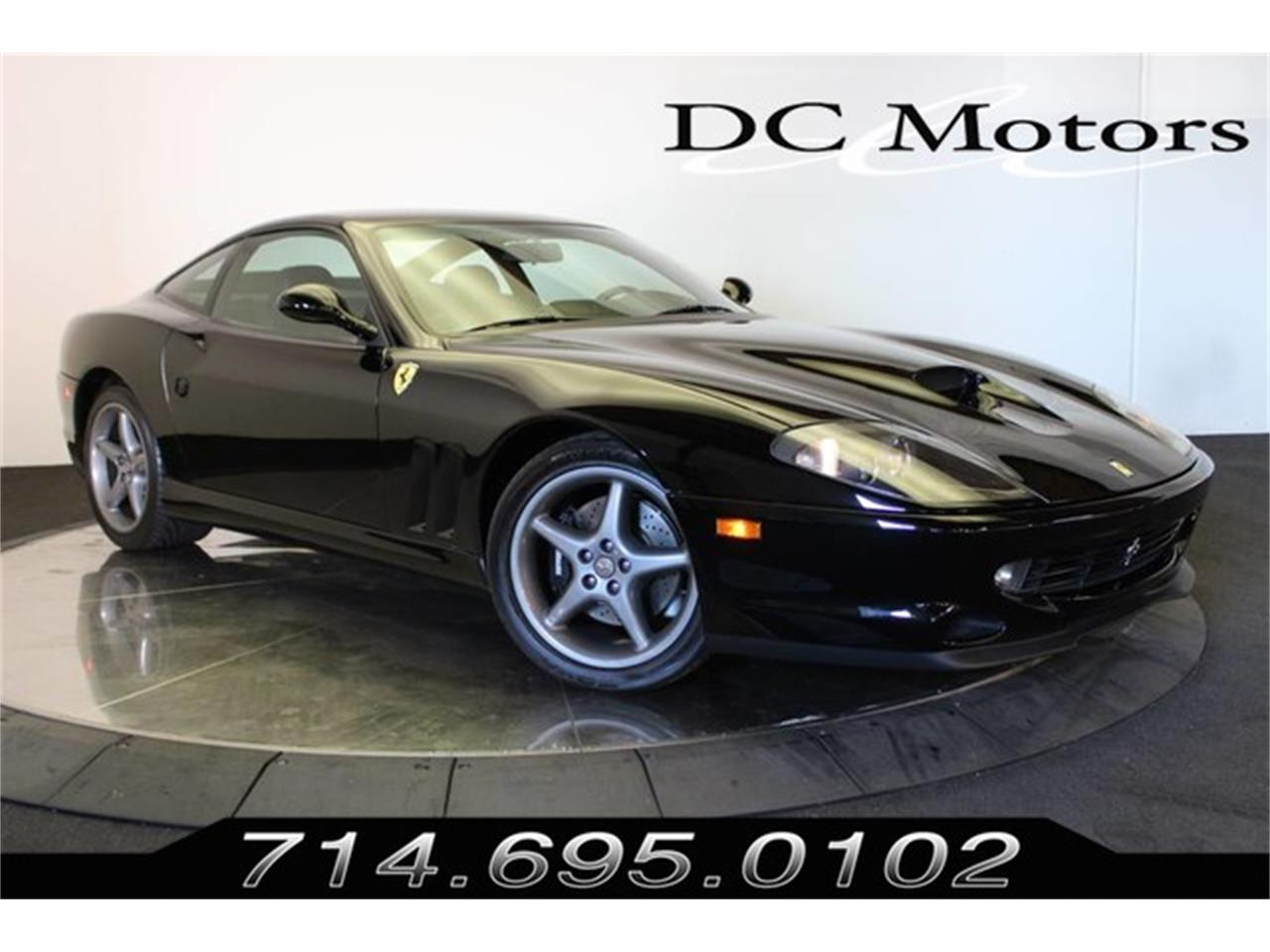 Large Picture of '00 Ferrari 550 Maranello located in Anaheim California Offered by DC Motors - JKZ6