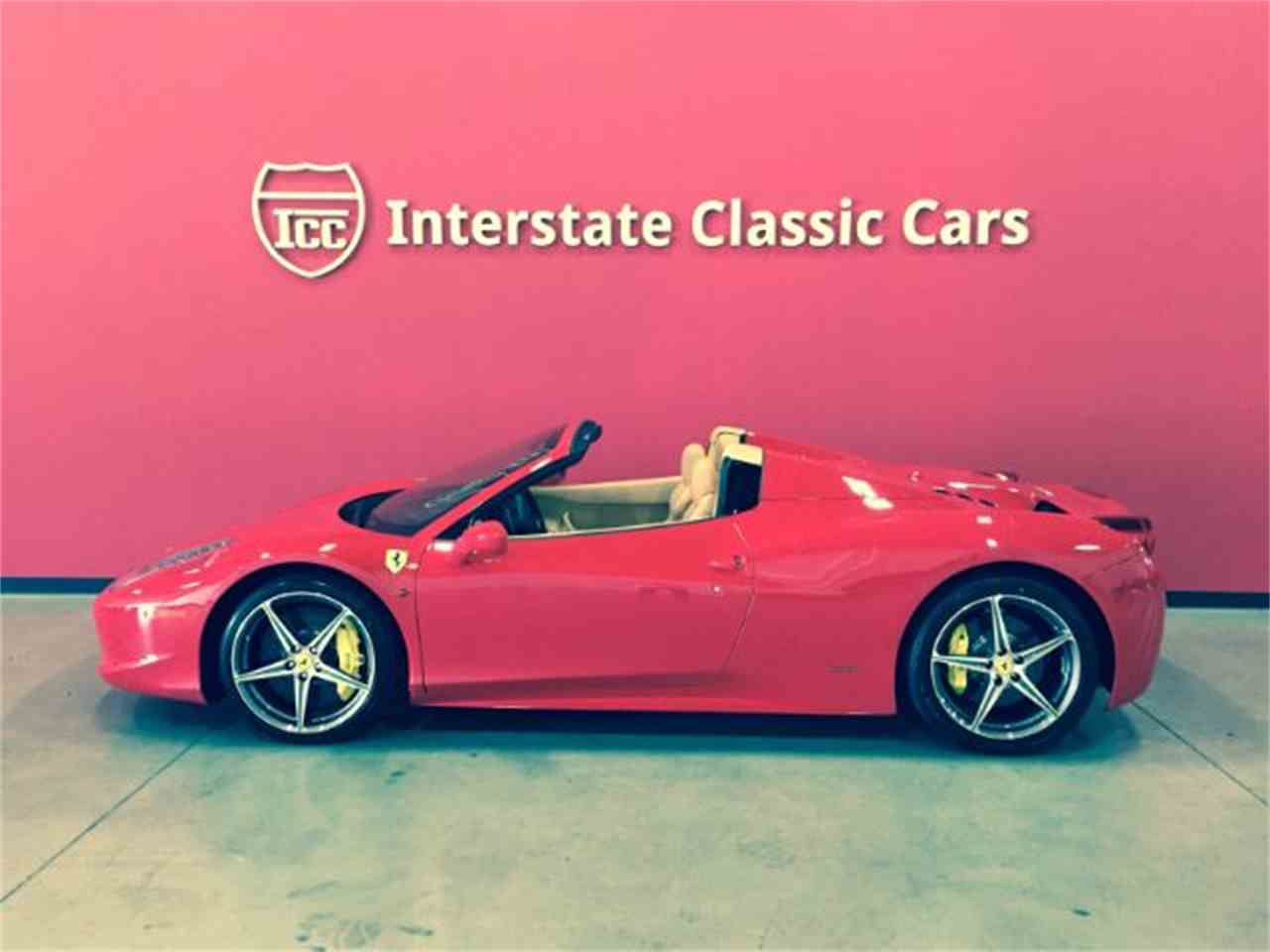 Large Picture of 2014 Ferrari 458 - $259,900.00 Offered by Interstate Classic Cars - JL59